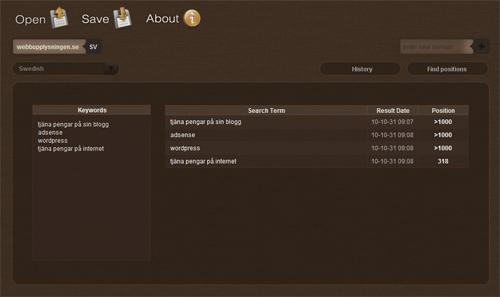 Wintzell.net skärmdump